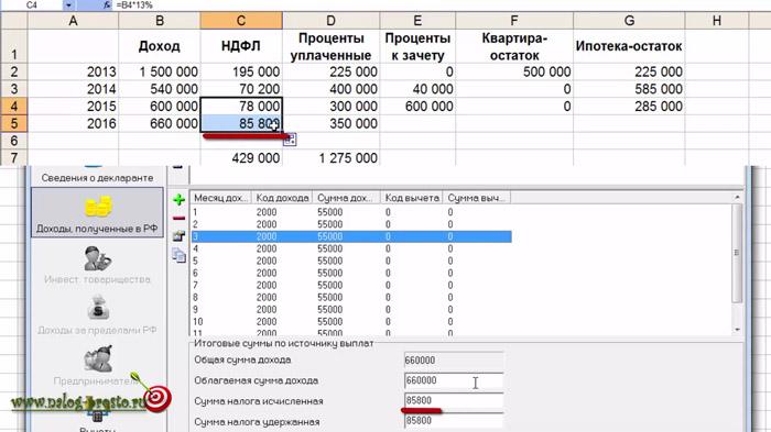 Ндфл по ипотечным процентам пример заполнения декларации ндфл на покупку машины декларация